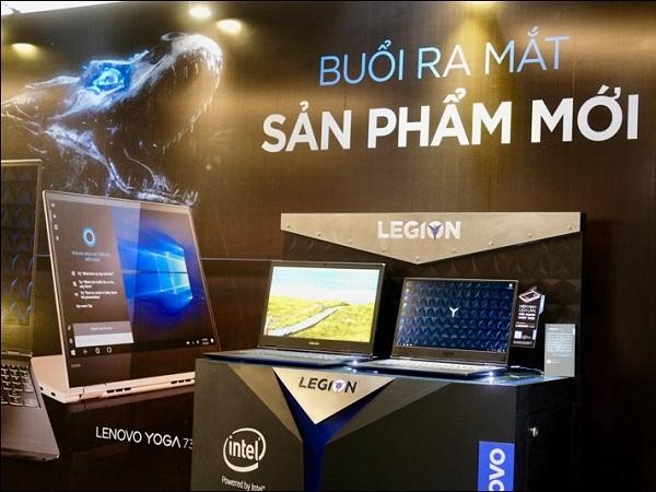 Dòng máy Lenovo Legion mới được thiết kế lại về logo lẫn vẻ ngoài