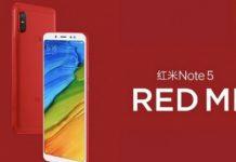 Ngoài màu sắc, các thông số kỹ thuật của Redmi Note 5 Flame Red Edition sẽ không khác gì so với phiên bản gốc