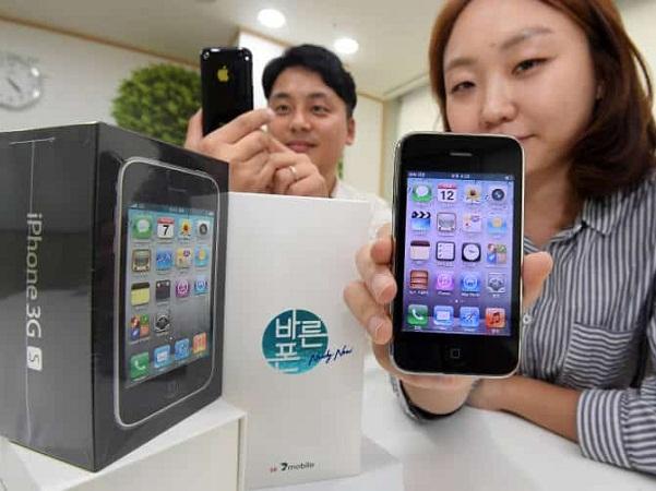 iPhone 3GS được sản xuất cách đây gần thập kỷ