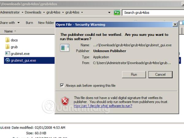 Các bước tạo USB Ghost Windows