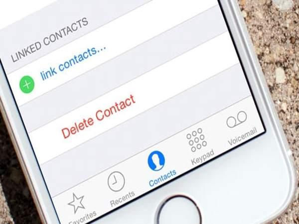 Cách xóa danh bạ trên iPhone hàng loạt