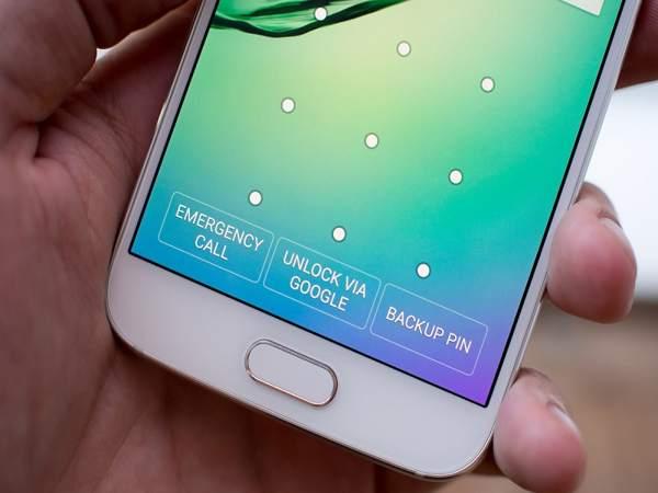 Hình ảnh giới thiệu các tùy chọn đăng nhập cơ bản mà Samsung hỗ trợ người dùng