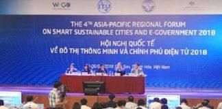 Hội nghị quốc tế về Đô thị thông minh và Chính phủ điện tử 2018