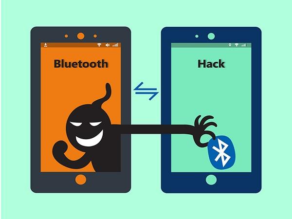 điện thoại bị hack qua Bluetooth