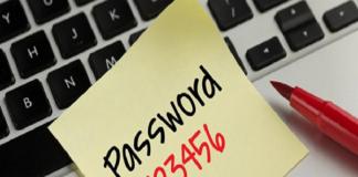 sai lầm đặt mật khẩu