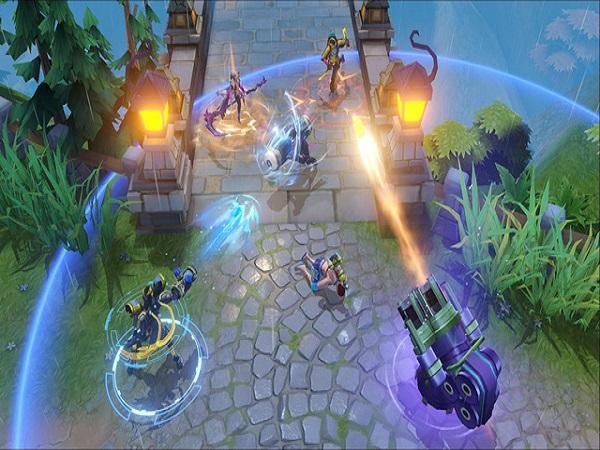 Game mobile MOBA