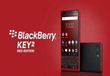Phiên bản BlackBerry KEY2 màu đỏ đẹp nhưng đắt