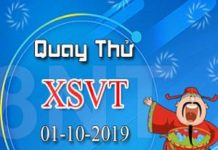Thống kê KQXSVT ngày 01/10 xác suất trúng cao