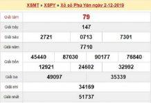 Soi cầu kết quả xổ số phú yên ngày 09/12 chuẩn