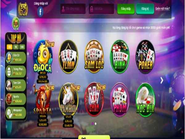 Game đổi thẻ đừng bỏ qua Vip 52 – Cơ hội đổi đời nhờ game bài