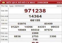 Phân tích KQXSCM- Xổ số cà mau thứ 2 ngày 01/06 của các chuyên gia
