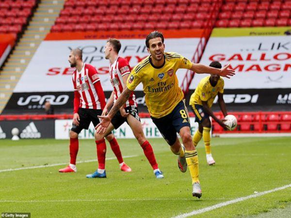 Arsenal chiến thắng sát nút Sheffield Utd