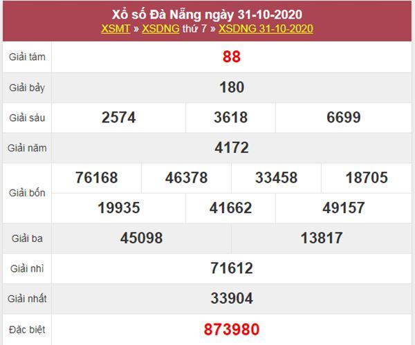 Soi cầu KQXS Đà Nẵng 4/11/2020 thứ 4 chuẩn xác và miễn phí