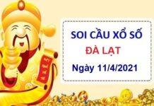 Soi cầu XSDL ngày 11/4/2021
