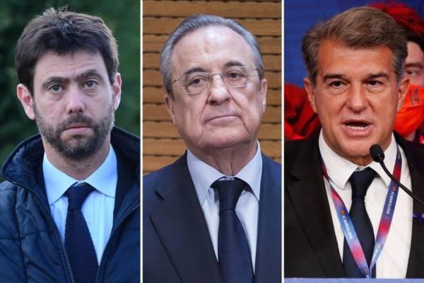 Real Madrid, Barcelona và Juventus đối mặt án phạt cực nặng