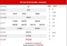 Thống kê XSTN ngày 10/6/2021 - Thống kê đài xổ số Tây Ninh thứ 5