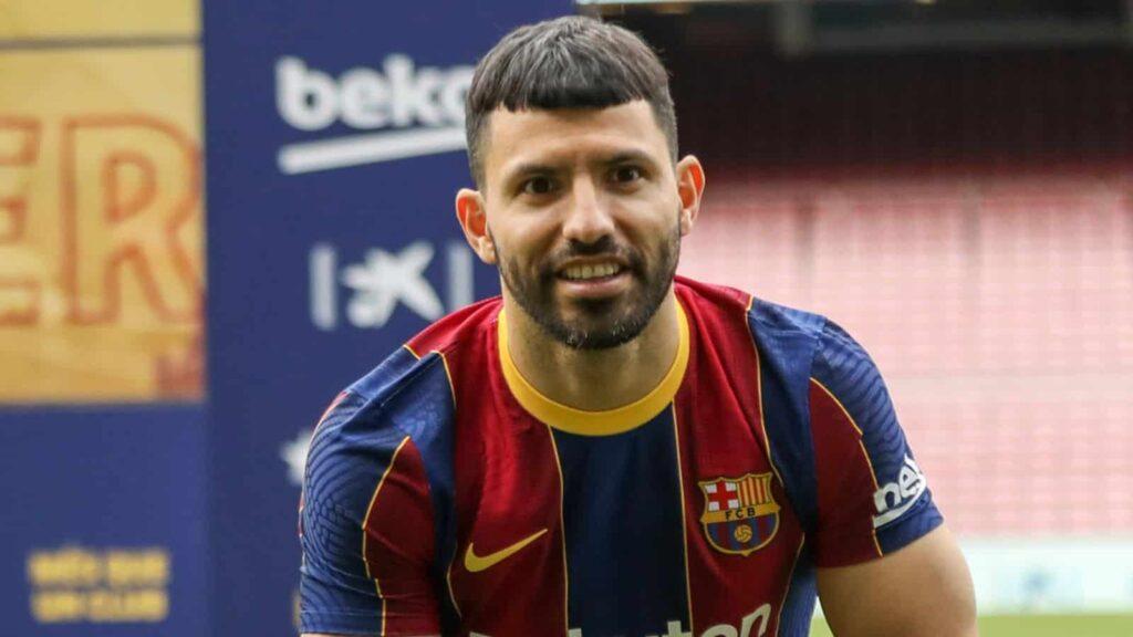 Sergio Aguero: gia nhập Barcelona từ Manchester City