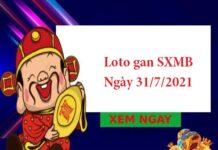 Loto gan SXMB 31/7/2021