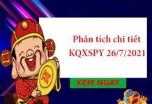 Phân tích chi tiết KQXSPY 26/7/2021