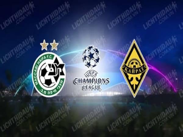 Nhận định bóng đá Maccabi Haifa vs Kairat Almaty, 0h00 ngày 8/7