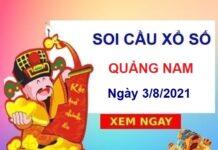 Soi cầu XSQNM ngày 3/8/2021