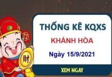 Thống kê xổ số Khánh Hòa ngày 15/9/2021