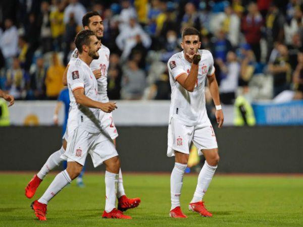 Tin thể thao tối 9/9: Tây Ban Nha thắng 2-0 trước Kosovo