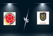 Tip kèo Colombia vs Ecuador – 04h00 15/10, VL World Cup 2022